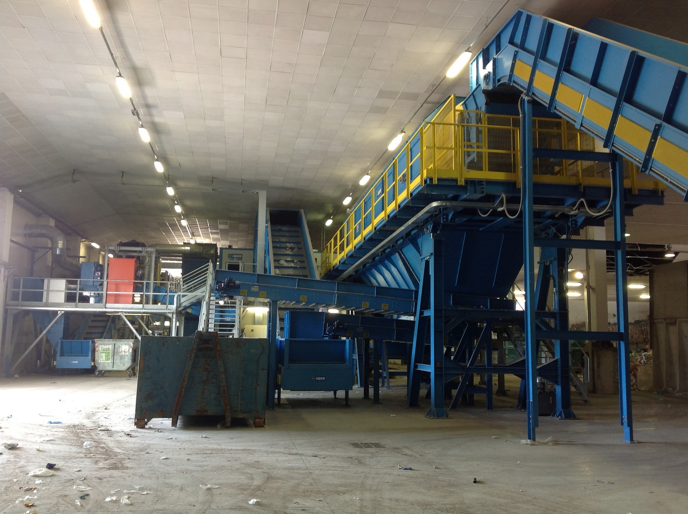 waste sorting machine